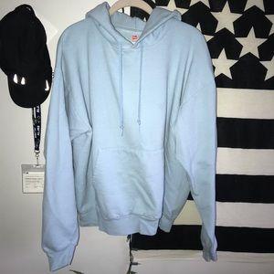 hanes hooded sweatshirt